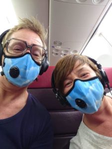 """Sky Mask"" in gebruik"
