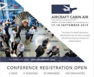 afbeelding Aircraft Cabin Air Conference 2019